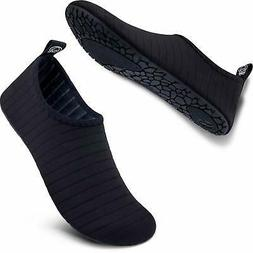 SIMARI Womens and Mens Water Shoes Quick-Dry Barefoot for Be