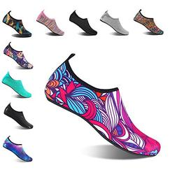 HMIYA Aqua Socks Beach Water Shoes Barefoot Yoga Socks Quick