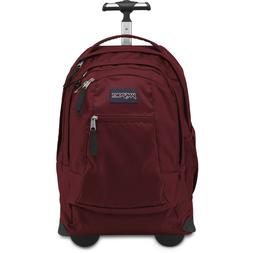 Brand New JanSport Driver 8 Rolling Backpack Viking Red