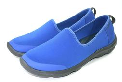 Crocs Busy Day Women's Blue Stretch Skimmer Double Comfort W