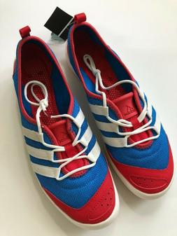 climacool boat sleek water shoes red white