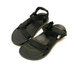 Air Balance Comfy Womens River Sandal Water Shoes, Solid Bla
