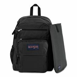 JanSport Digital Student Laptop Backpack Black/Forge Grey