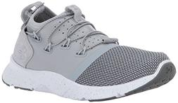 Under Armour Women's Drift 2 Sneaker, Overcast Gray /White,