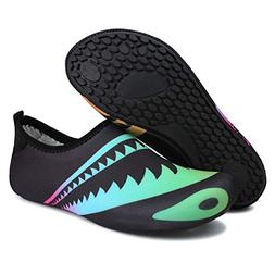 Barerun Summer Water Shoes for Women Men Lightweight Aqua So
