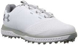 Under Armour Women's Fade RST Golf Shoe, White /Overcast Gra