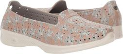 Skechers H2GO Flutter Womens Taupe Beige Slip On Water Shoes