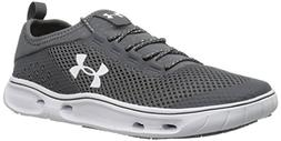 Under Armour Women's Kilchis Sneaker, Rhino Gray /White, 11
