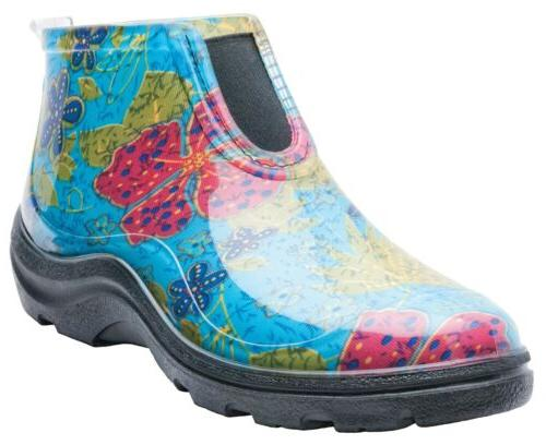 Sloggers Women's Waterproof Rain and Garden Ankle Boots with