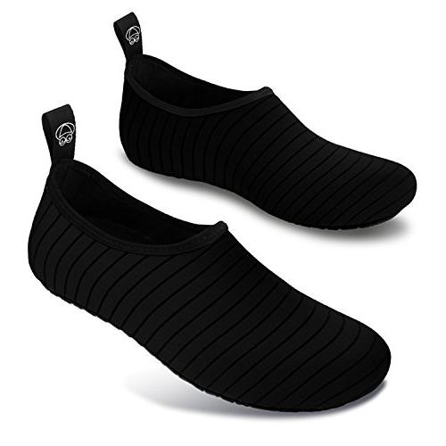 JOINFREE Women's Kid Athletic Beach Slip-On Water for Outdoor Medium