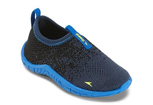 baby surf knit water shoe navy royal