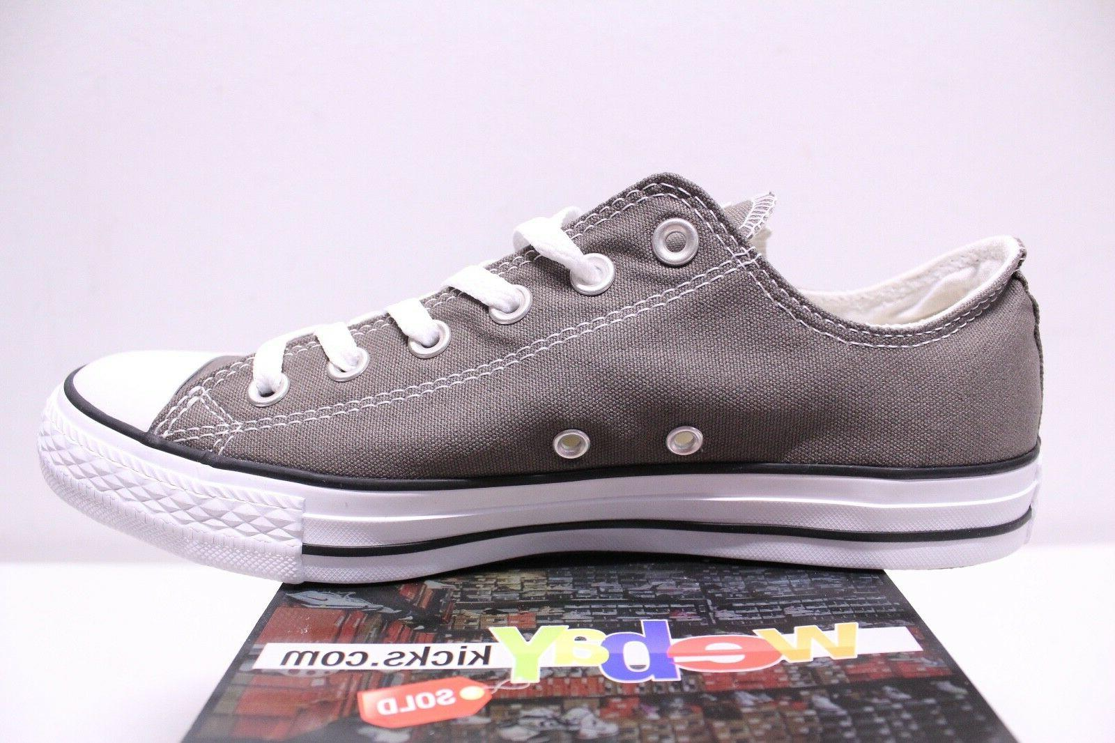 Converse Chuck Star Low Charcoal 8-13