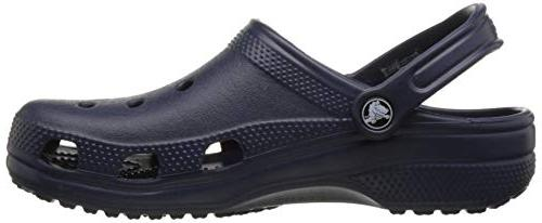 crocs Navy, / 8 US