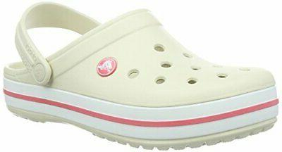 crocband clog slip on casual water shoes