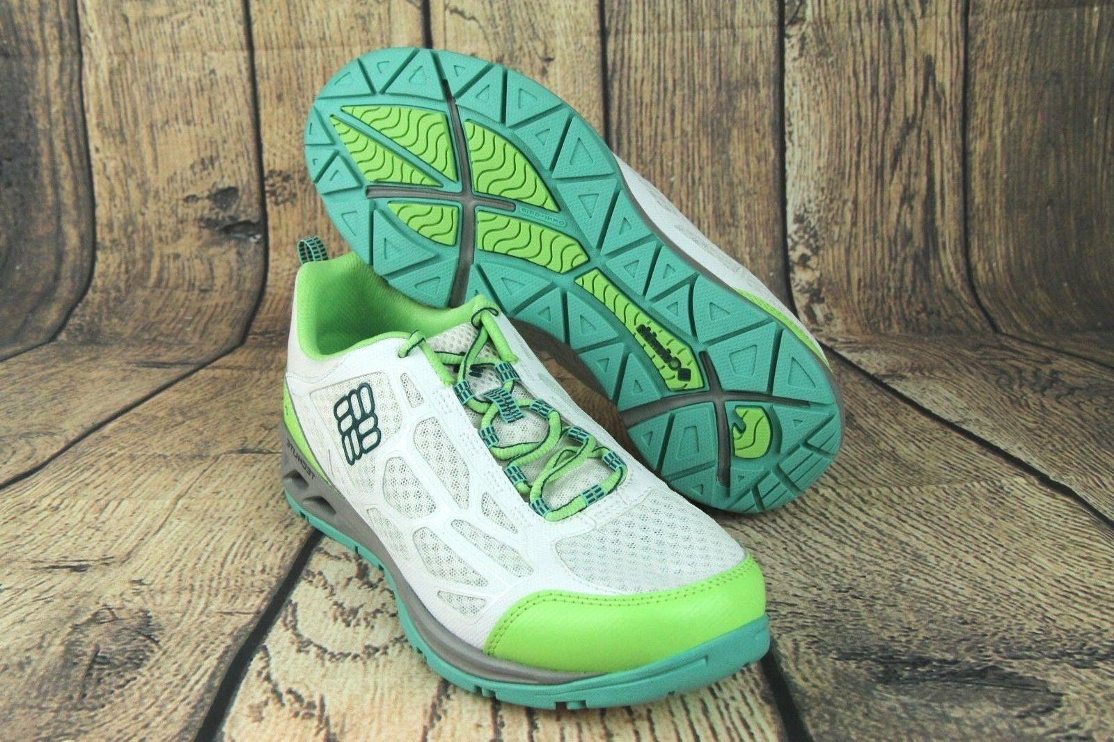 megavent fly water shoes white green volt