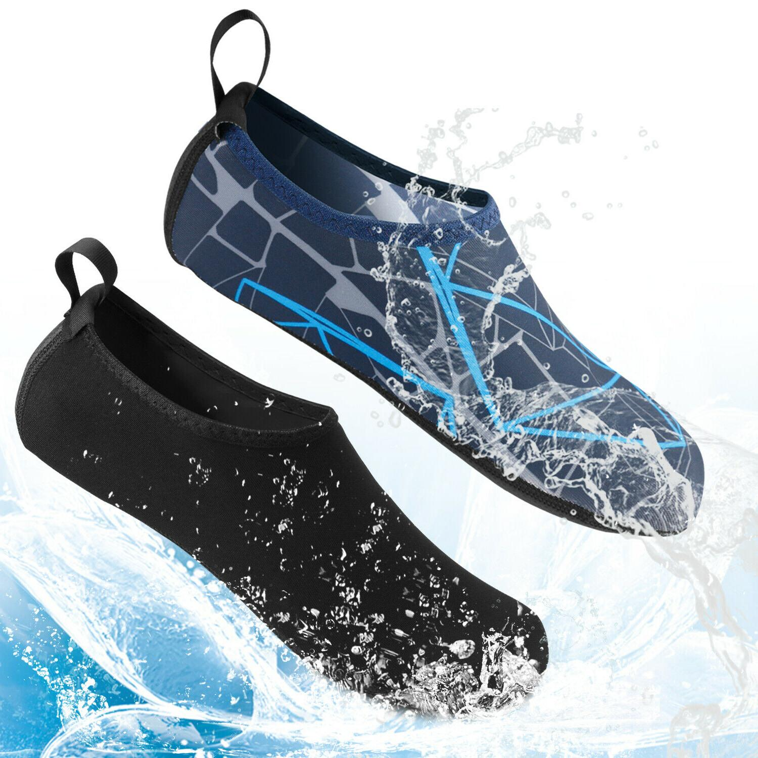 men women water shoes barefoot aqua socks