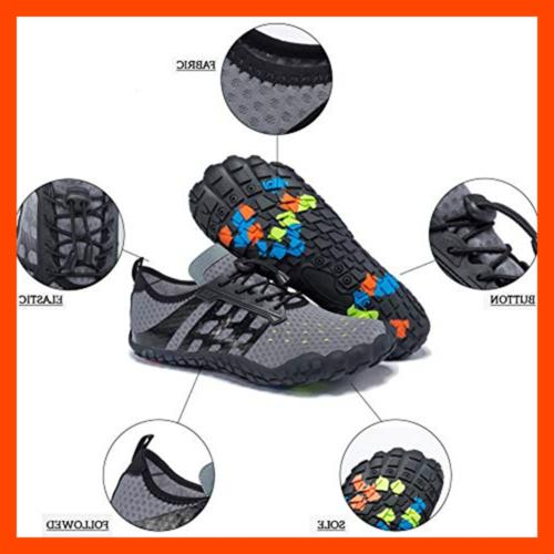 FEIFAN Men Water Shoes Quick Beach Swim