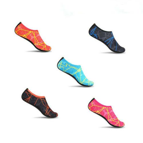 Men Women Skin Shoes Aqua Socks Swim Surf