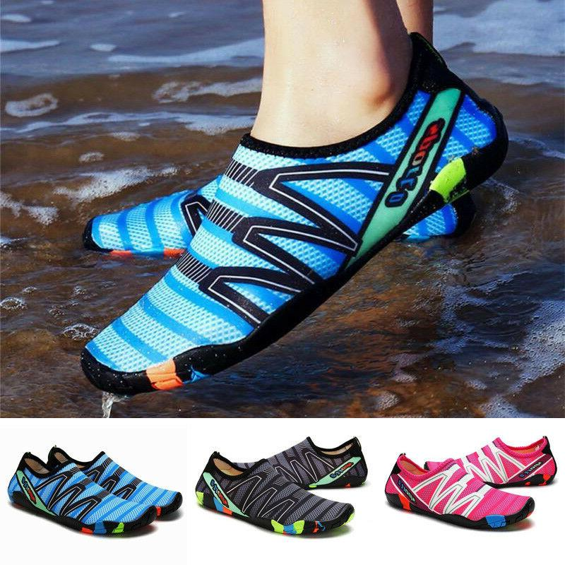 mens sports water shoes skin socks quick