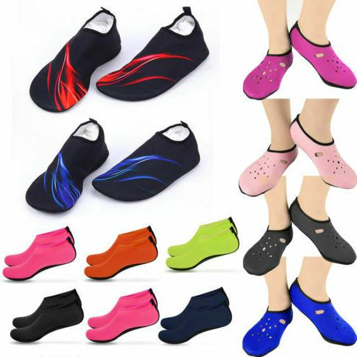 Mens Womens Water Shoes Barefoot Aqua Diving Quick-Dry On