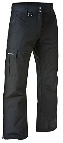 Arctix Men's Premium Snowboard Cargo Pants, Black, Large