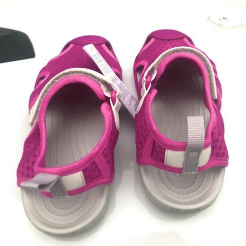 NEW Swiftwater Water Shoes Deck Sandals Pink