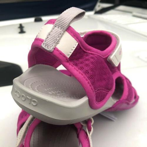 NEW Swiftwater Mesh Shoes Deck Sz Pink White