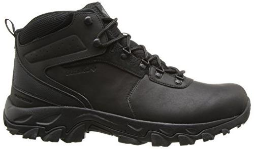 Columbia Men's Plus II Boot, Black, 8.5 Regular US