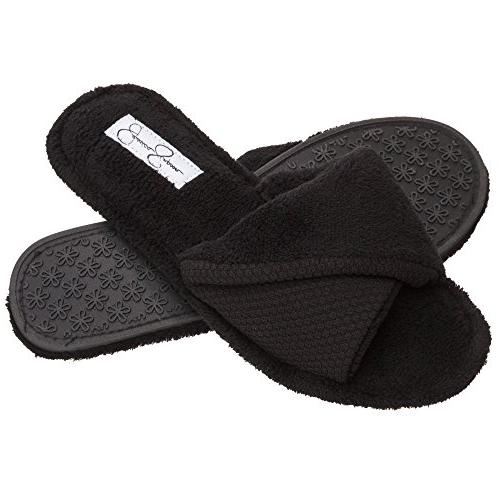 open toe scuff house slippers womens indoor
