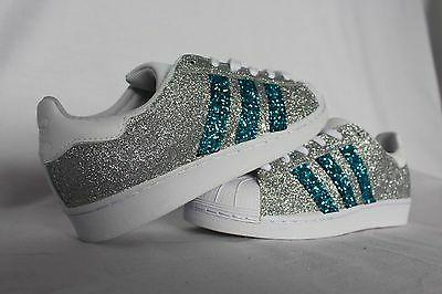Shoes adidas With Silver & Glitter Blue
