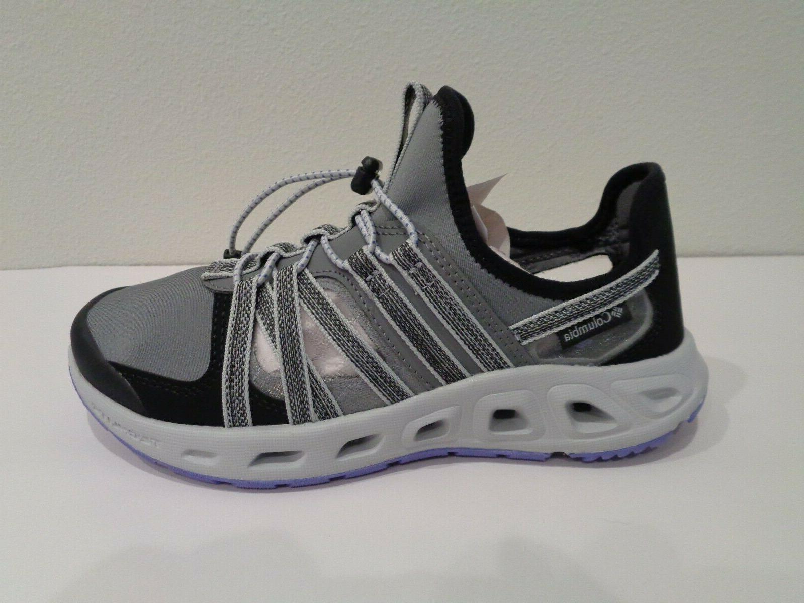 Columbia Size 10 OKOLONA Grey Toggle Sneakers New Shoes