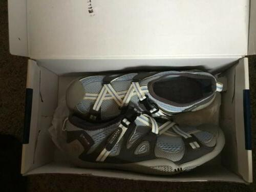 sperry womens blue white grey top sider