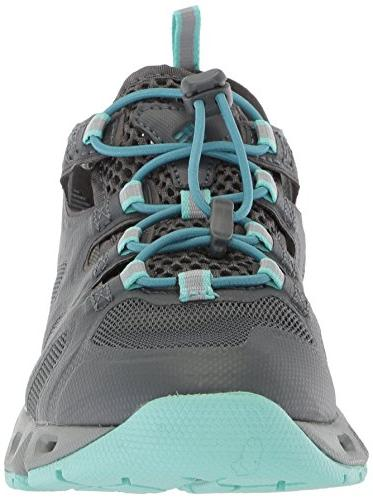 Columbia Women's Supervent Shoe, Graphite, 8