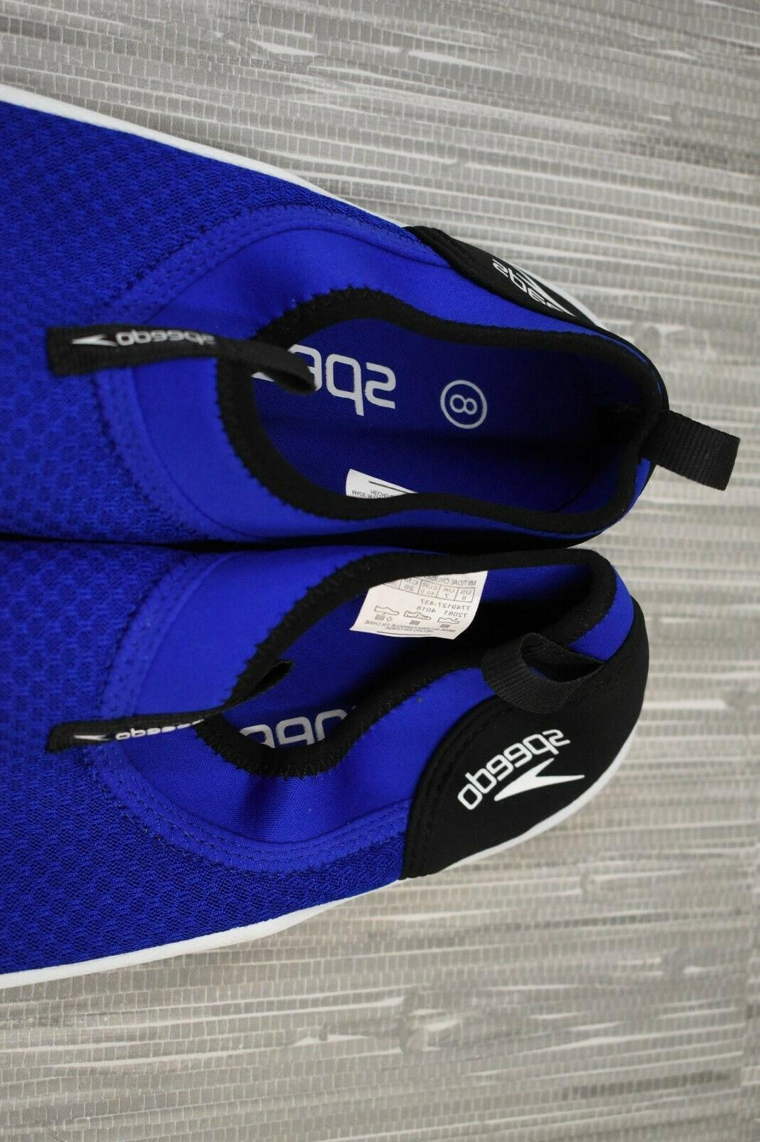 **Speedo Shoes, Size Blue