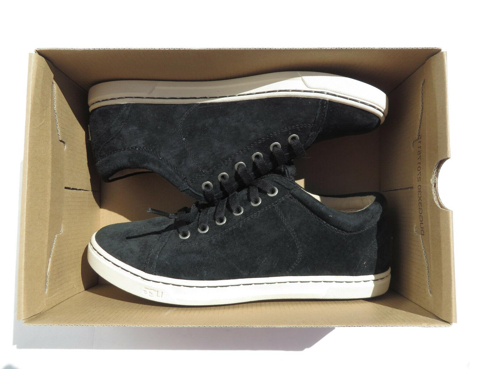 UGG Tomi Suede Womens 6.5 9.5 Leather Black