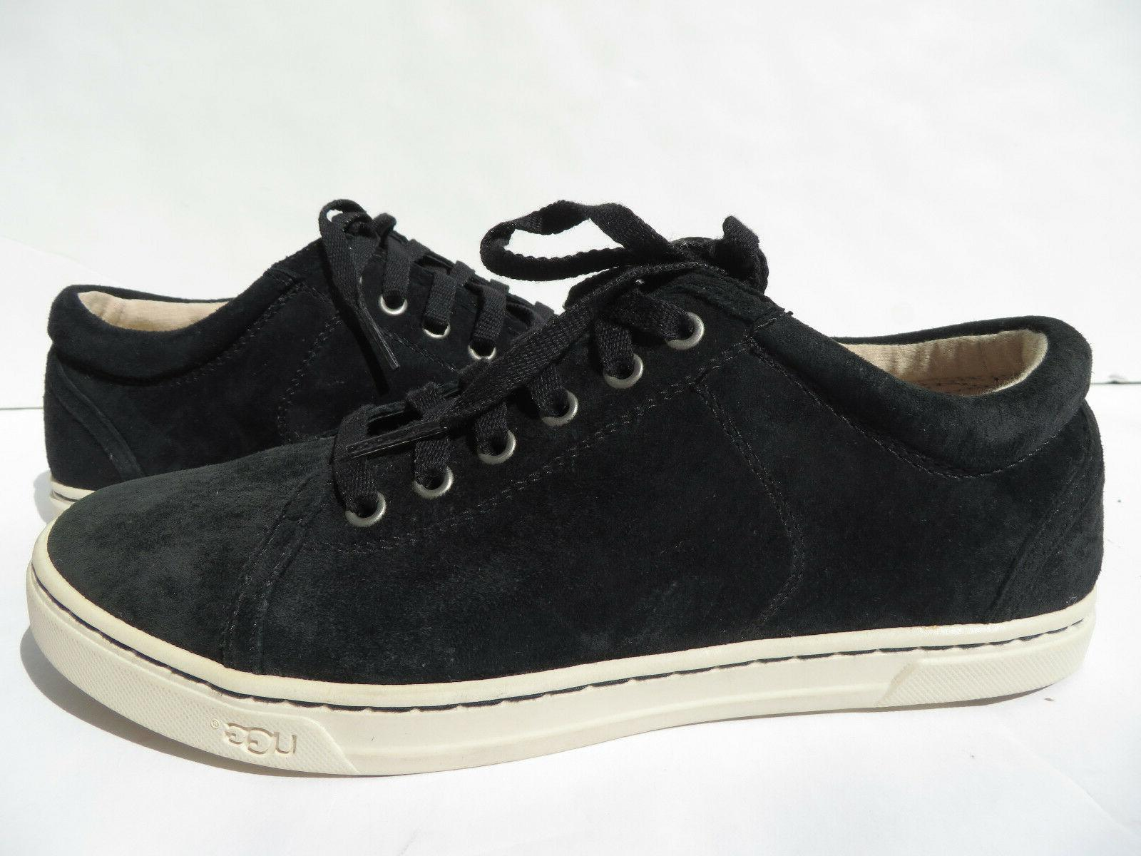 UGG Tomi Resistant Suede Sneaker Shoes Womens 6.5 10 Leather