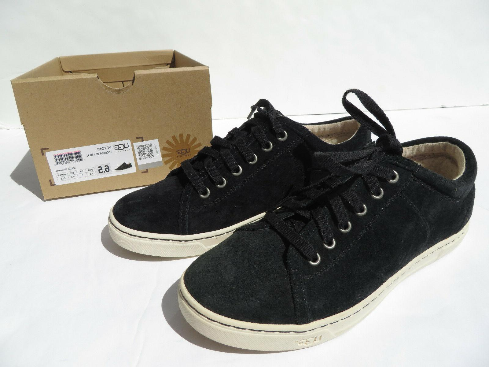 ugg tomi water resistant suede sneaker shoes