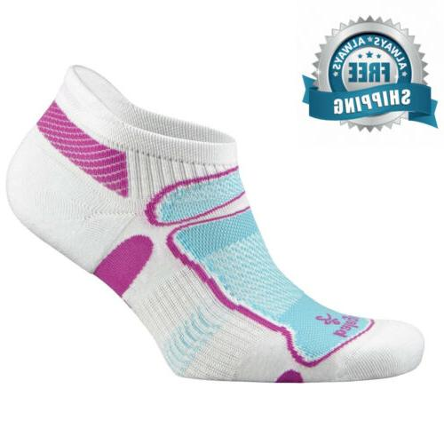 Balega Ultra Second Skin No Socks - Medium - White/Berry