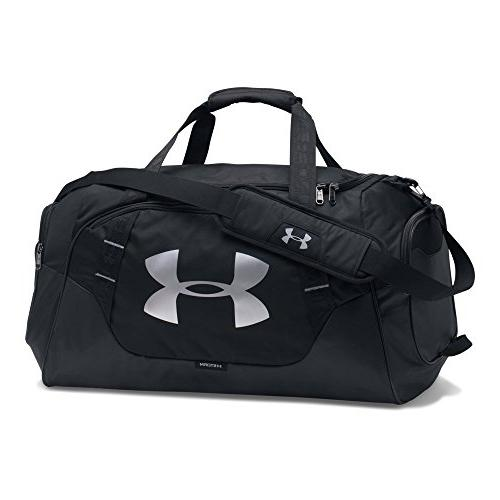 Under Armour Undeniable 3.0 Medium Duffle Bag, Black /Silver