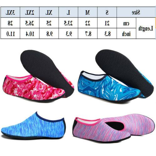 USA Shoes Aqua Yoga Exercise Dance Swim Slip