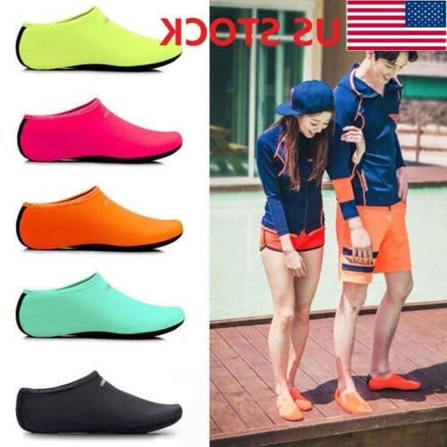 usa women men skin water shoes beach