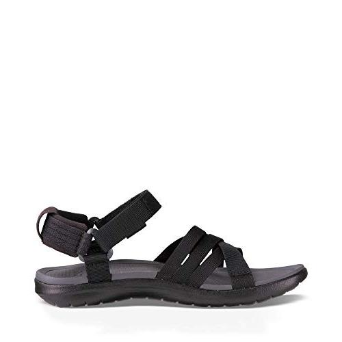 Teva Sandal, Black, US