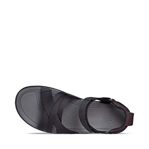 Teva Women's W Sandal, Black, 8 US