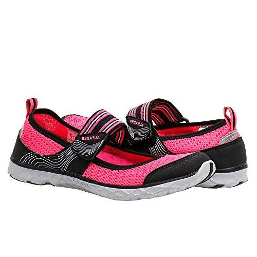 ALEADER Womens Water Shoes Mary Sneaker 8.5 D US