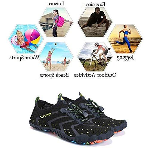WXDZ Women Water Sports Quick Barefoot Aqua Shoes for Walking