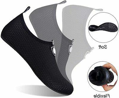 Water Shoes Mens Quick-Dry Socks for Beach Surf Yo