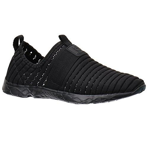 ALEADER Shoes Women's Walking Black D