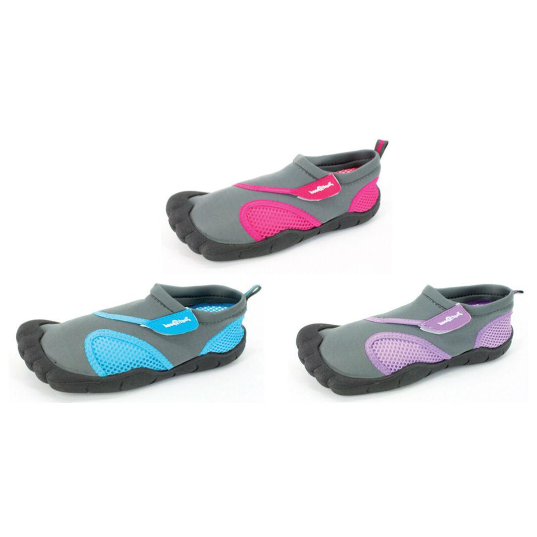 women aqua shoe outlined toes water shoes