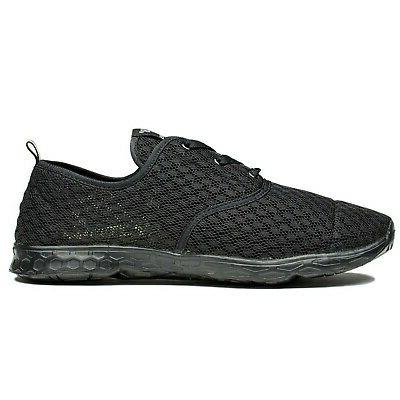 NewDenBer Women's Mesh Quick Drying Water Shoe All US