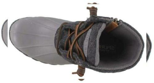 SPERRY Saltwater Wool Grey 8 US